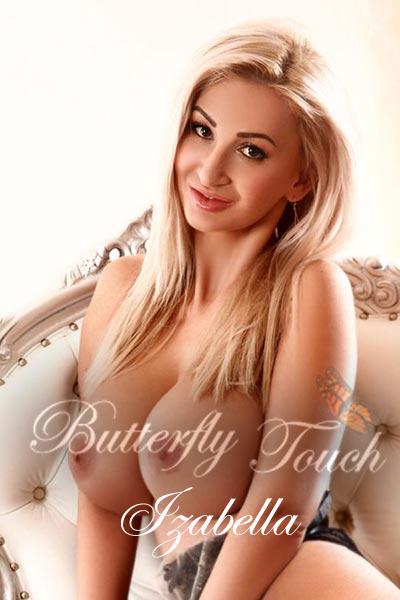 Busty open-minded blonde Massage escort Izabella