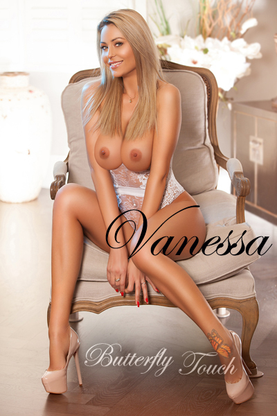 Busty open-minded blonde escort Vanessa